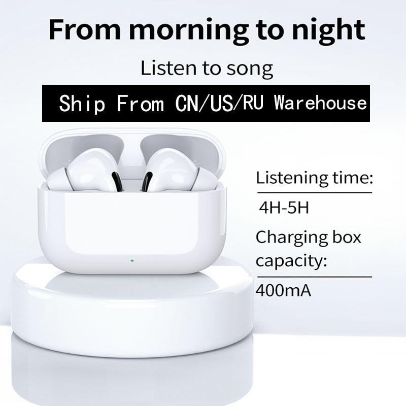 Про воздух 3 СПЦ беспроводные наушники Bluetooth 5.0 шлемофона HD микрофон наушники снижения шума игровые наушники для телефона Airpodding