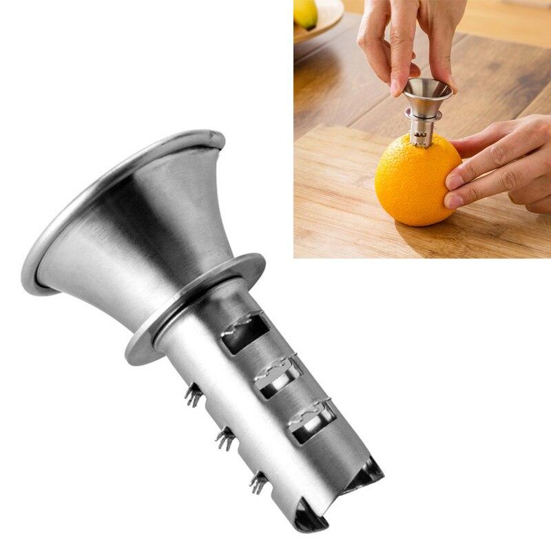Stainless Steel Citrus Orange Juicer Lemon Lime Fruit Hand Squeezer Kitchen Tool 40JA