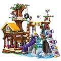 872 штук Приключения лагерь домик на дереве Emma Mia Строительные блоки Фигура дружбы Развивающие игрушки Кирпичи Детский комплект для девочек