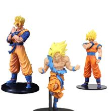 2019 super 50th anniversary fire Dragon Ball Super saiyan Goku figura de Ação Anime brinquedos Com base model Collection presente(China)