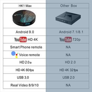 Image 3 - HK1 Max Android 9.0 Smart Tv Box 4Gb Ram 64Gb Rockchip3318 4K Google Play Store Youtube HK1Max 4Gb Ram 32Gb Set Top Box
