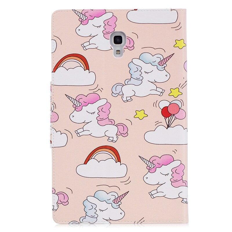 Coque For Samsung Galaxy Tab A A2 10.5 2018 T590 T595 SM-T590 Kawaii Unicorn Panda Tablet Cover For Samsung Tab A 10.5 Case+Pen