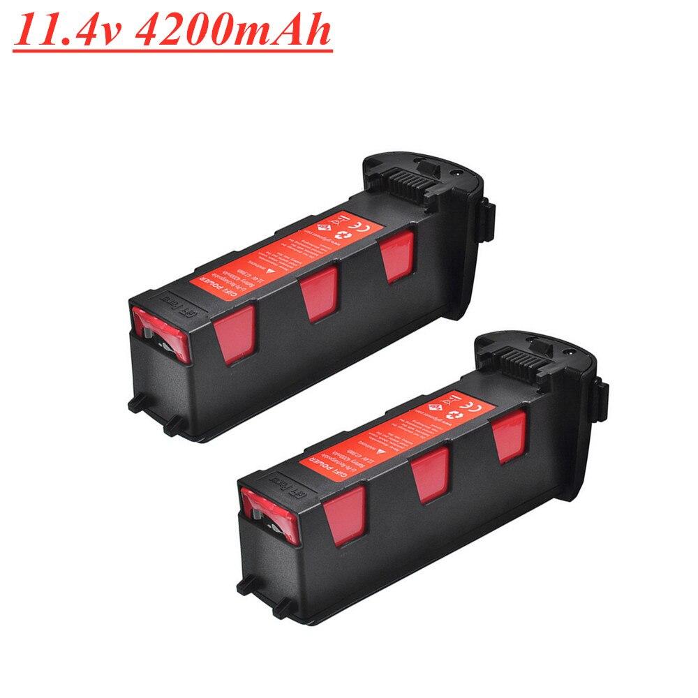 Elevação 11.4v 4200 mah bateria para hubsan h117s zino gps rc quadcopter peças de reposição bateria de vôo inteligente para rc câmera zangão