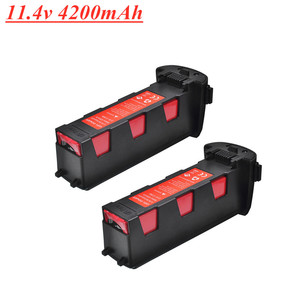 Upgrade 11.4v 4200mAh Battery for Hubsan H117S Zino GPS RC Quadcopter Spare Parts Intelligent Flight Battery For RC Camera Drone