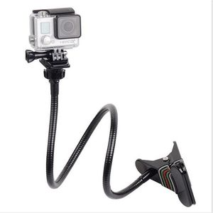 Image 1 - Ajustable Jaws Flex Clamp Mount 13.4 inches Gooseneck Extension for GoPro Hero 7/6/5/4/2/Session DJI OSMO Action Xiaomi Yi 4K