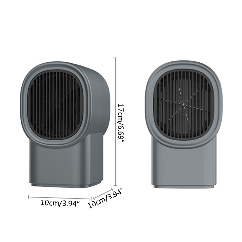 600W Winter Mini Heaters Home Office Electric Heater UK/US/EU