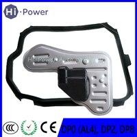 새로운 DP0 (AL4)  DP2  DP8 자동 변속기 피스톤 필터 + 가스켓 변속기 피스톤 필터 가스켓 푸조 닛산 시트로엥