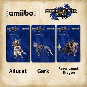 Карта памяти для Nintendo Switch Monster Hunter Rise amiibo Tiger Dragon Ailu Cat NS