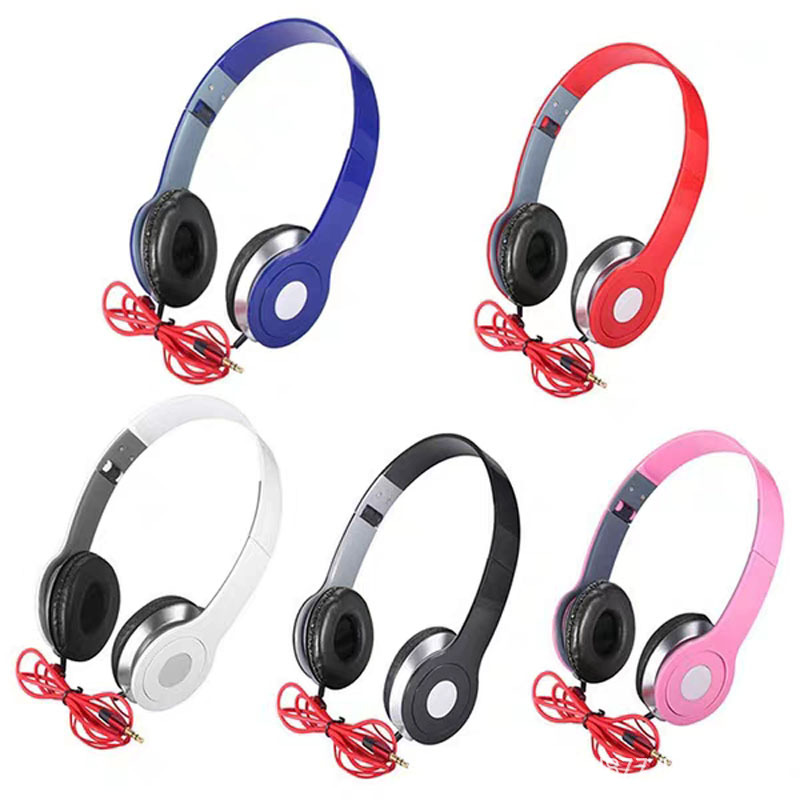 Bass Headset Mobile Phone Computer MP3 Foldable Extendable Connection Earphones Gift Earphone