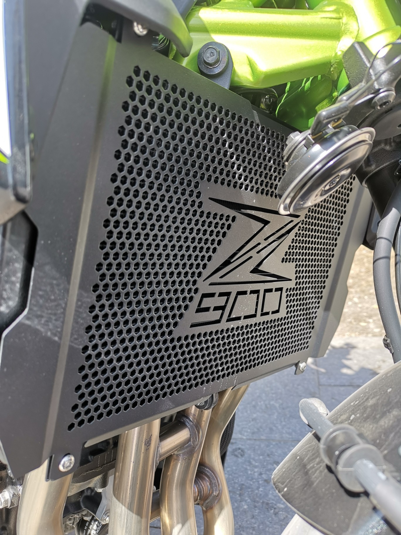 Image 5 - For Kawasaki Z900 Z 900 New Motorcycle Radiator Grille Guard  Protection For Kawasaki Z900 Z 900 2017 2018 2019 2020  AccessoriesCovers