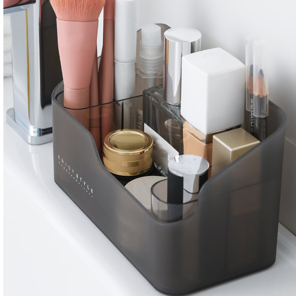 Multi-functional Skin Care Products Remote Control Cosmetics Jewelry Storage Box Make Up Cosmetics Organizer Storage Box