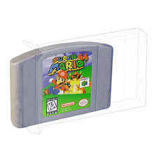 N64 Cartridge Protector Box for Nintendo 64 Game Strong Plastic Display Case
