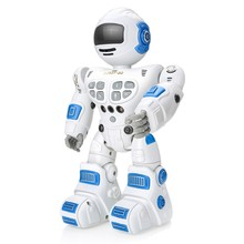 Bluetooth Rc Toy Robots Remote Control Toys Intelligent Robotics Dancing Singing Gesture Sensing Recording Robot Toys Children B(China)