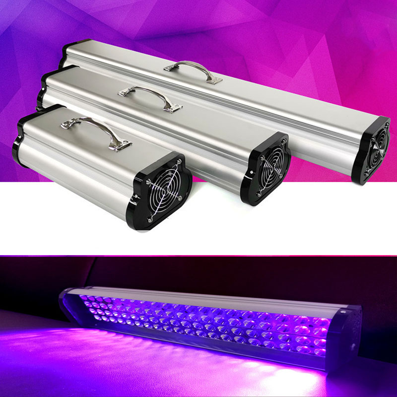 UV Curing Floodlight/Spotlight DIY LED Resin Curing Lamp 400W 405nm UV Resin Output Effect Fast Curing for SLA DLP 3D Printer