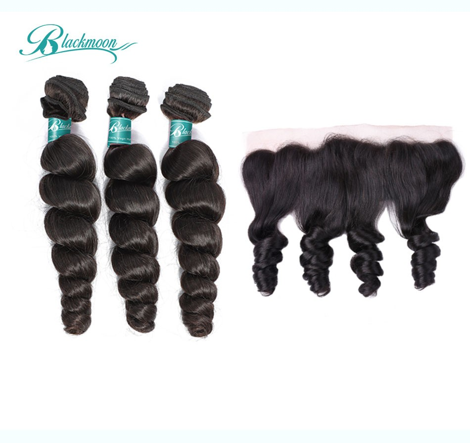 loose wave hair weave 3 4 bundles with 13 4 frontal---3+13_02