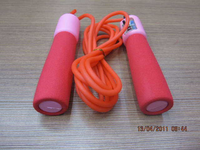 Foam Rubber Grip Automatic Counting Rubber Jump Rope Students Exam Game Only Jump Rope Sports Jian Shen Sheng