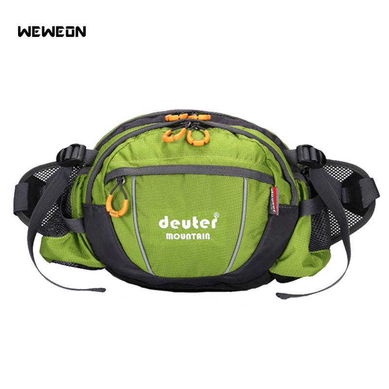 Outdoor Riding Running Waist Bag City Jogging Waist Pack Walking Accessories Sports Handy With Bottle Holder