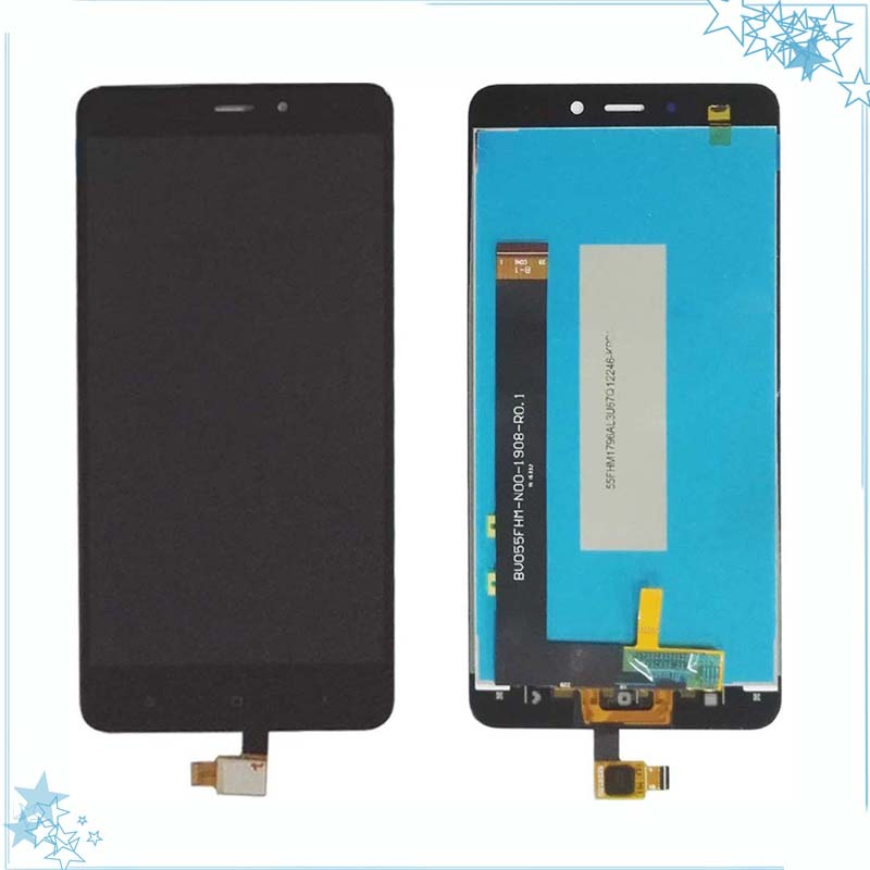 Für <font><b>Xiaomi</b></font> redmi Hinweis <font><b>4</b></font> Globale Glas LCD display Touch Screen <font><b>Panel</b></font> Screen Digitizer Ersatz Teil image