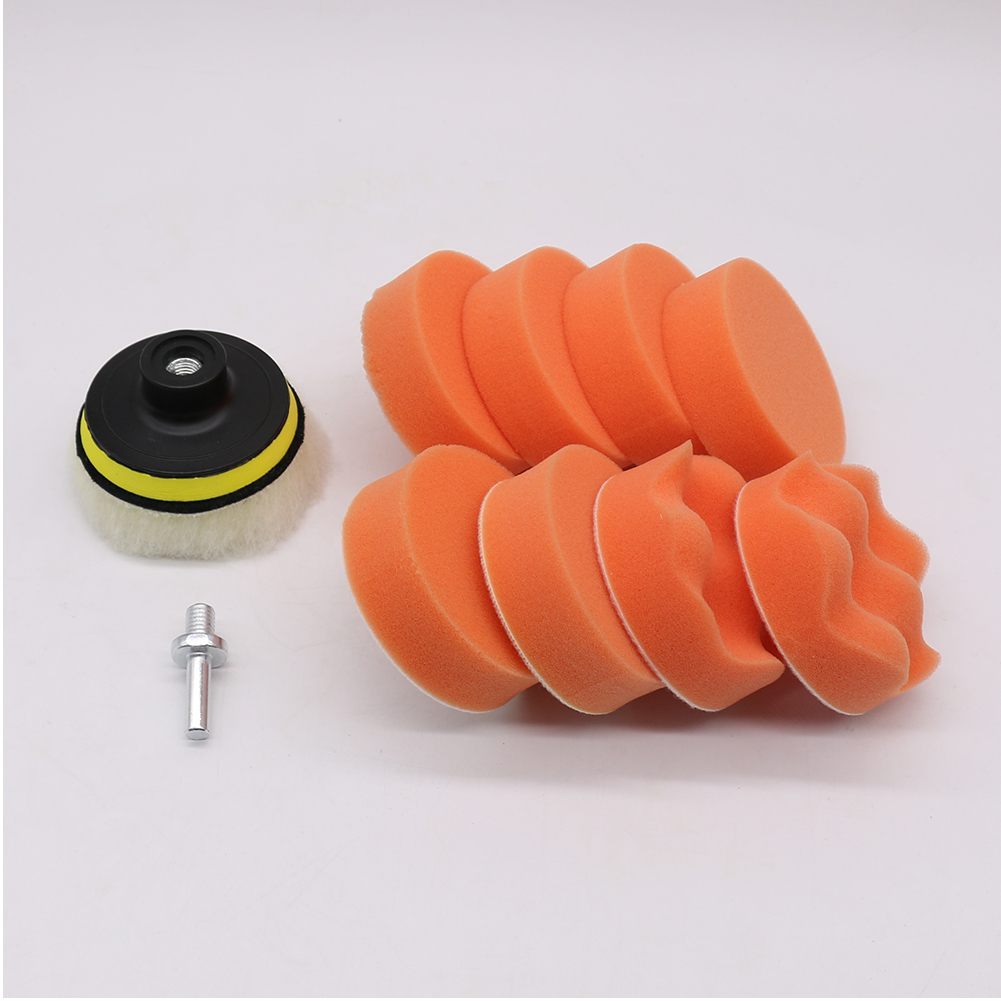 Modify Self-adhesive Replacement Part Polishing Disc Durable Car Home Repair DIY Metal Car Waxing Set