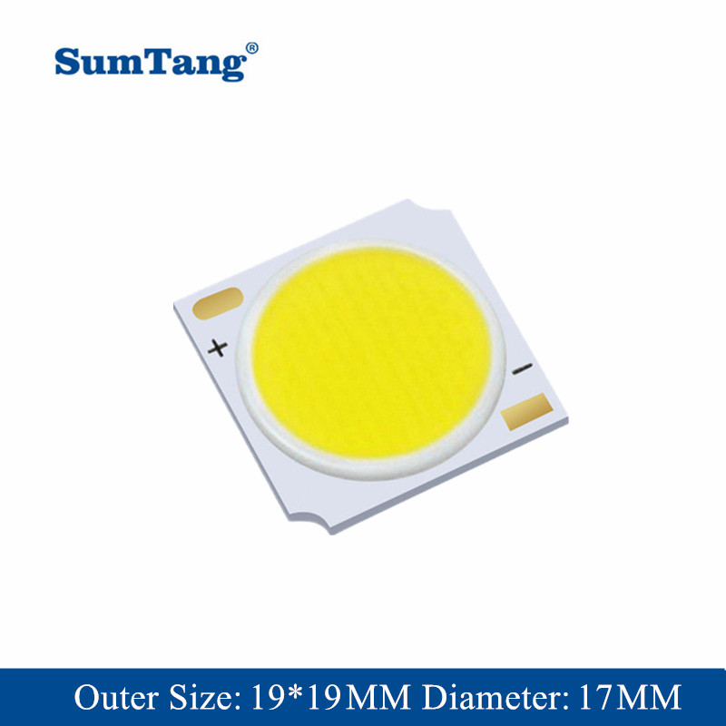 Smart IC 3//5//7//9//12//15//20//30W LED Floodlight Cool//Warm White Chip Ceramics Lamp