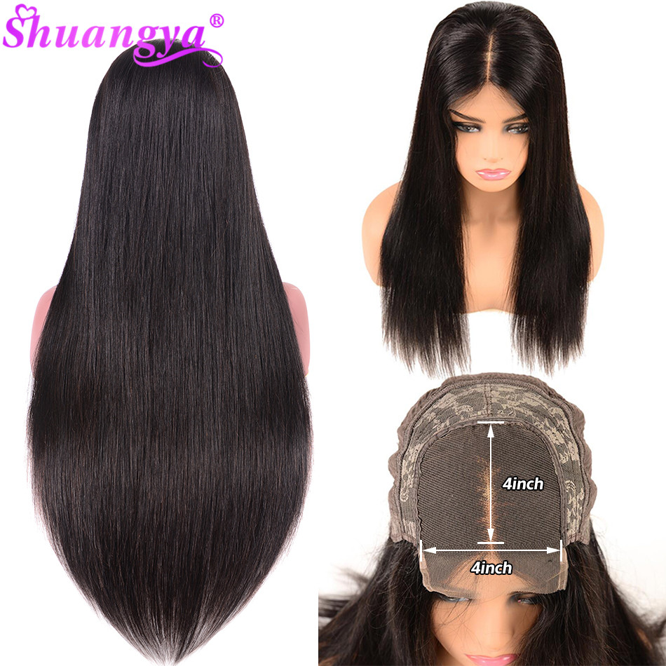 5x5 6x6 4x4 Closure Wigs Straight Lace Closure Wig Brazilian Human Hair Wigs 150% Remy Lace Front Wig Fast Shipping Closure Wig