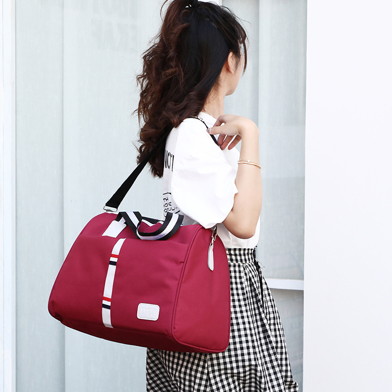 New Large-capacity Fashionable Outdoor Bags Nylon Single Shoulder Diagonal Bags Trend Large-capacity Handbags