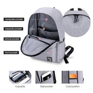 Image 3 - School Backpack men Waterproof Backpack Laptop 15 Men Travel Teenage Backpack Bag Male Bagpack Mochila notebook