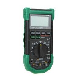 Multimetr cyfrowy 5 w 1 poziom hałasu oświetlenia miernik temperatury i wilgotności narzędzie diagnostyczne Auto zakres podświetlenie LCD w Mierniki wielofunk. od Narzędzia na