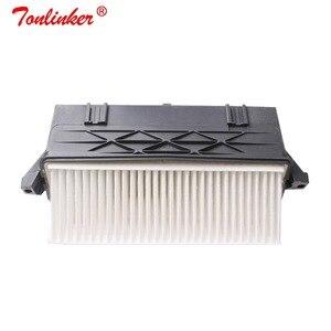 Image 2 - מסנן אוויר 2 Pcs עבור מרצדס בנץ X164 GL320 GL350 2006 /X204 GLK350 2010/ W164 ML300 ML350 2009 2011/W221 S350 2011 2013 דגם