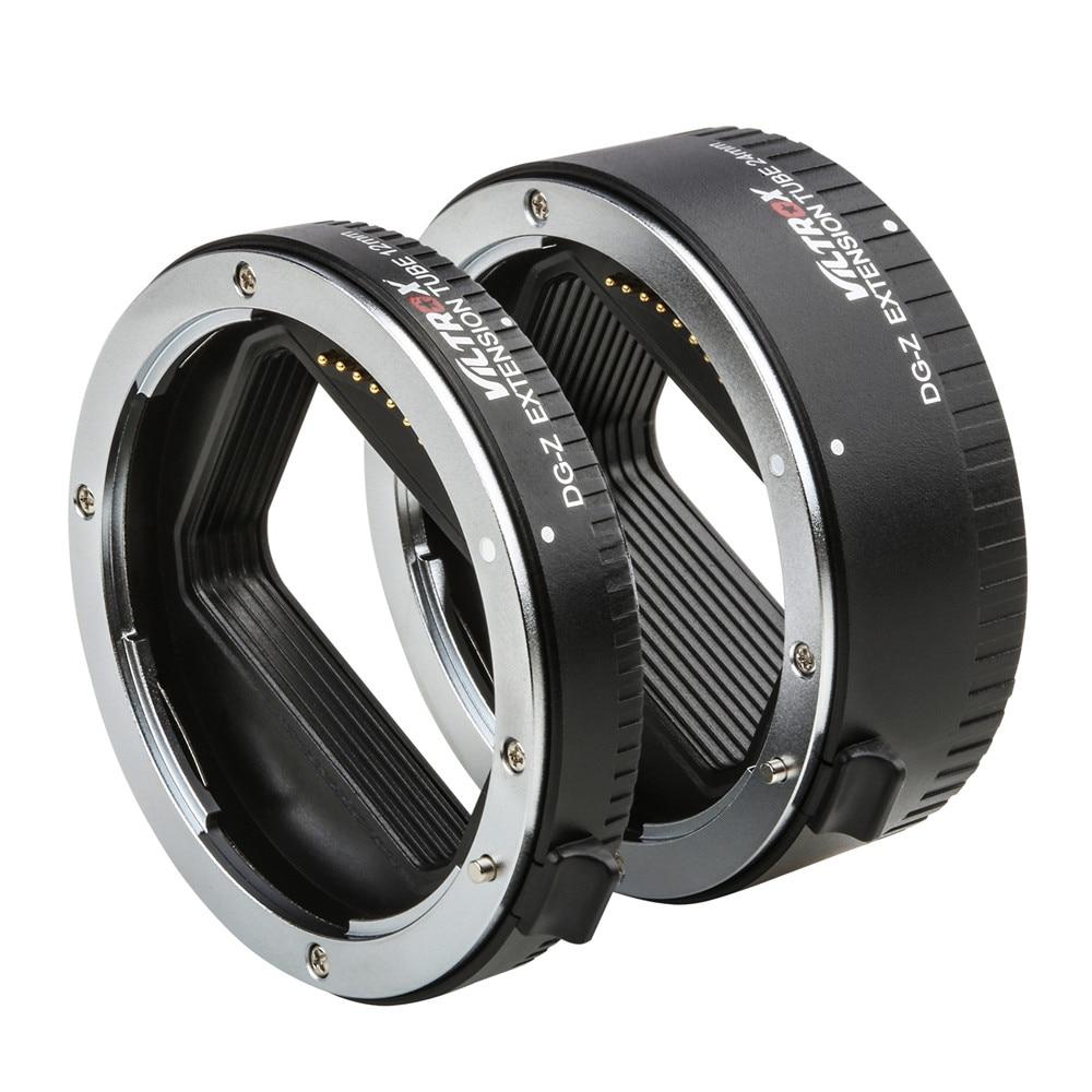 Viltrox DG-Z Auto Focus AF Macro Extension Tube Lens Adapter Aperture Adjust For Nikon Z Mount Z6 Z7 Z50