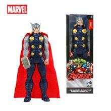 Figuras de acción de los vengadores para niños, muñecos de PVC de la serie Thor Titan Hero de 30cm, regalo de Navidad de Año Nuevo de Marvel