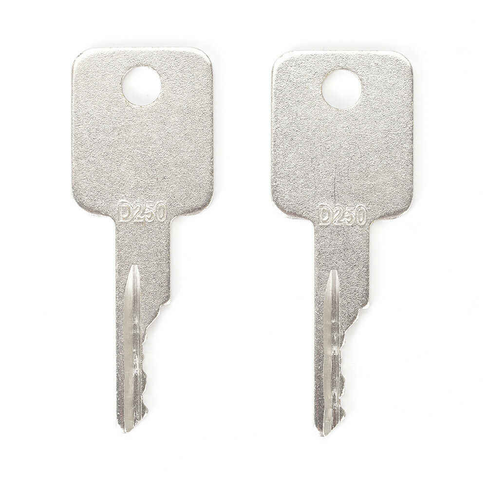 2 Para funda Bobcat Skidsteer D250 llaves excavadora Ingersol Pollack zanja bruja fácil de usar práctico duradero BU1697X2