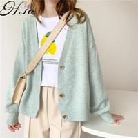 Женский кашемировый свитер на пуговицах 1