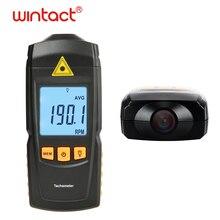 GM8905 Ручной бесконтактный с ЖК-дисплеем 2,5-99999 ОБ/мин Диапазон цифровой лазерный тахометр 0-50 ℃ с 3 флуоресцентными наклейками