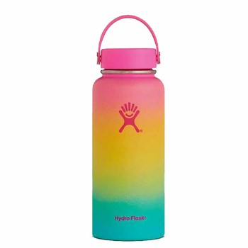 hydro flask 18oz/32oz/40oz Tumbler Flask Vacuum Insulated Flask Stainless Steel Water Bottl with Leak Proof Colors Bottles
