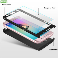 For iPhone 11 Pro Max 11Pro XS Max XR X 6 6S 7 8 Plus Case Shockproof 360 Degree Full Cover Fundas Hard PC Case + Tempered Glass colorful gradient case for iphone 11 pro max x xs max xr 8 hd glass capa fundas for iphone 11 11pro 8 7 6 6s plus back cover