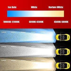 Image 2 - C6 Wholesale 880 881 H7 LED H4 Car Fog Lights Bulb H27 HB4 HB3 9012 9006 H3 H1 H11 H8 H9 H13 Led light For Auto 12V Head light