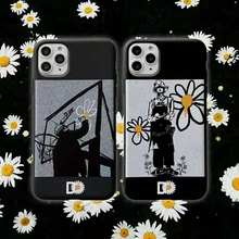 Dragon GD peaceminusone daisy phone case for iphone 7 8 6 6s plus soft silicone cover for iphone 11 pro max XS MAX XR covers(China)
