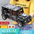 Technic APP RC G Vetro G500 AWD Wagon SUV Veicolo Fit Lepinblocks MOC 2425 Funzione di Potenza del Motore Blocchi di Costruzione giocattoli