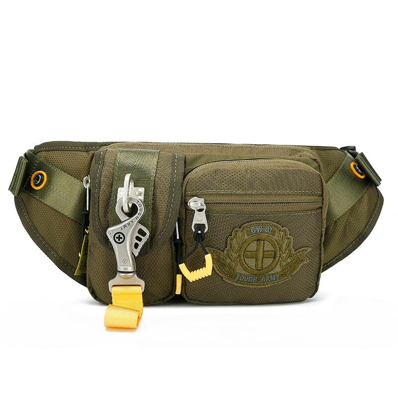 Men's Waterproof Waist Belt For 2020, Fashionable Chest Bag, Outdoor Sports Belt, Belt Bag