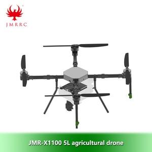 Image 1 - JMR X1100 5L dört eksenli tarımsal sprey drone çerçeve kiti Parts1300mm dingil mesafesi katlanır uçuş platformu İha