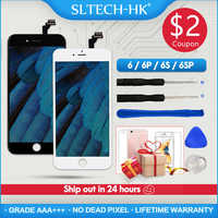 Grade AAA + + + Per il iPhone 6 6S Plus LCD Con 3D Forza di Touch Screen Digitizer Assembly Per il iPhone 5S Display No Dead Pixel