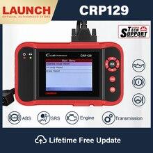 Lançamento crp129 obd2 scanner ferramenta de diagnóstico do carro abs airbag scanner autoscanner diagnóstico freio sas óleo reset