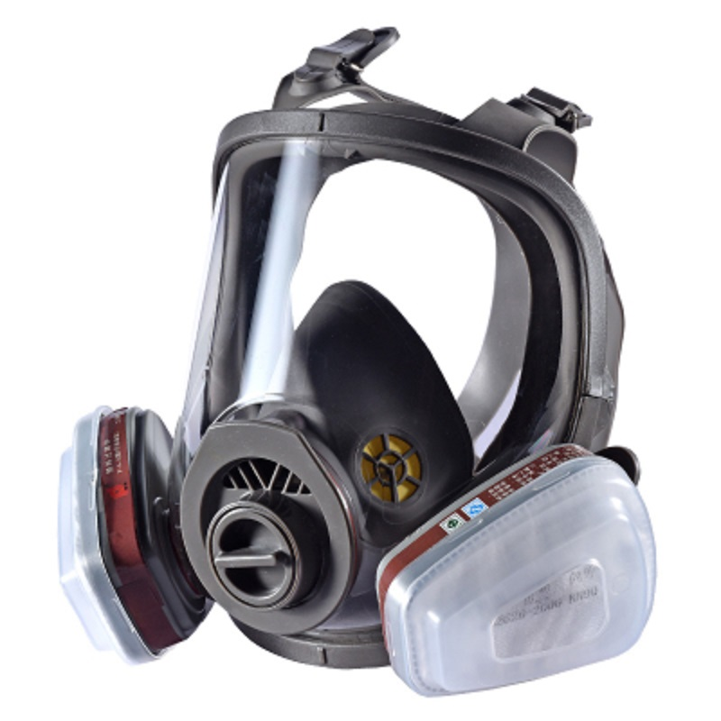 6800 Full Face-piece Gas Mask Respirator Chemical Cartridges Industrial Protective Spraying Paint Weld Lab Dust-proof
