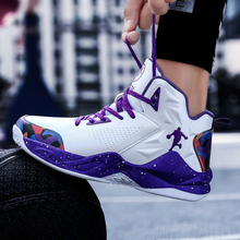 Men Sneakers Basketball-Shoes Training-Boots Women Outdoor Light Breathable Professional