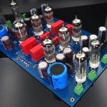 12AX7+ 6Z4 трубка, усилитель мощности DIY наборы доска JP200 HIFI ламповый преусилитель