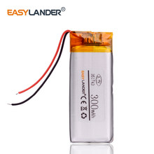 351743 3,7 V 300mAh lithium-Polymer-Li-Ion Akku Für Sony MP3 sony walkman NWZ-B143F YP-U5 player(China)