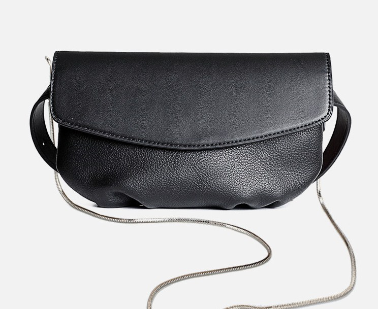 2019 New Genuine Leather Women Waist Pack Soft Belt Bag