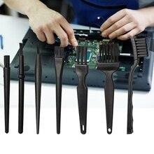 7 Pcs Small Portable Handle Anti Static Brush Cleaning Brush Tool for Mobile Phone Tablet Repair