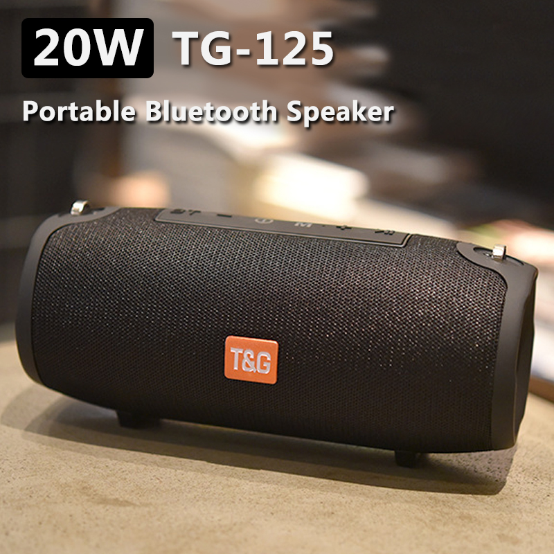 Portable Column 20w Wireless <font><b>Bluetooth</b></font> <font><b>Speaker</b></font> Music Player Sound System Boom Box super bass with FM Radio AUX for Computer <font><b>2.1</b></font> image